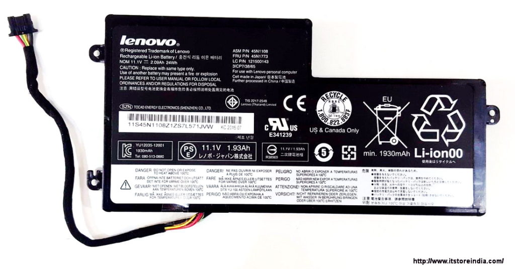Battery For Lenovo Thinkpad